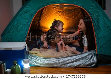 mobiele · huizen · caravan · park · schilderachtig - stockfoto © joyr