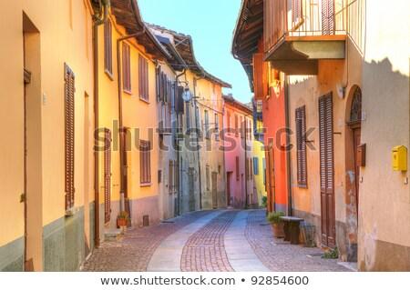 italiano · estreito · rua · cidade · velha · bicicleta · Itália - foto stock © rglinsky77