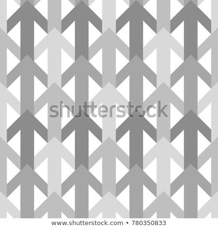 Dárda minta vektor monokróm háttér klasszikus Stock fotó © Kheat