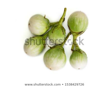 Small round green eggplant Stock photo © sundaemorning