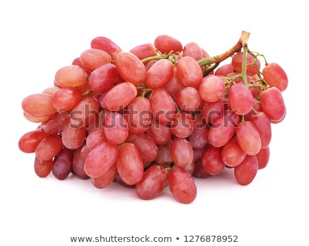 Bunch of fresh seedless red grapes Stock photo © raphotos