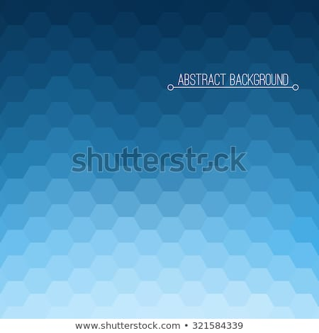 zadel · bruin · abstract · laag · veelhoek · stijl - stockfoto © orson