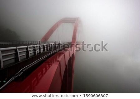 Foggy Bridge Stock photo © olandsfokus