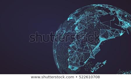 Foto stock: Resumen · diseno · mundo · mapa · mar · mundo