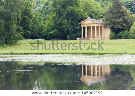 Occidental lago Inglaterra edificio arquitectura parque Foto stock © phbcz
