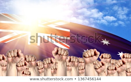 Australia Labour movement, workers union strike Stock photo © stevanovicigor