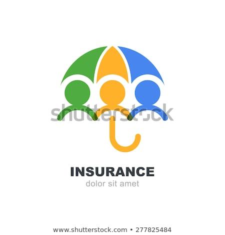 egészségbiztosítás · bélyeg · grunge · pecsét · fehér · orvosi - stock fotó © butenkow