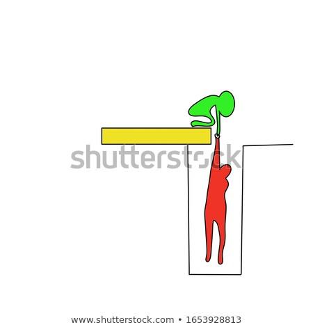 Não perigoso real isolado mão Foto stock © hsfelix