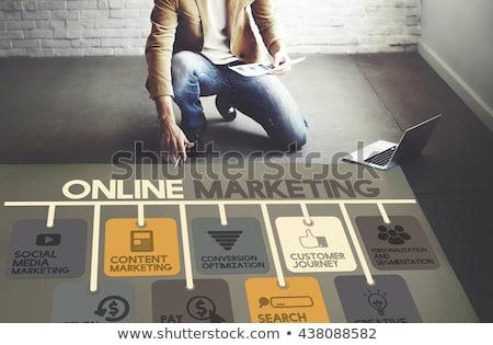 Publicity. Online Working Concept. Stock photo © tashatuvango