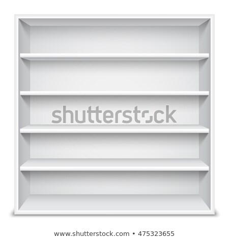 白 ショーケース 空っぽ 棚 孤立した 製品 ストックフォト © timurock