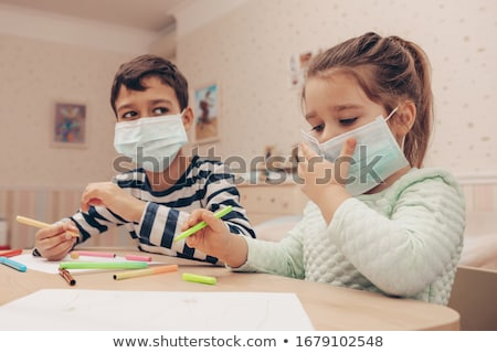 Playing with bacteria. Stock photo © Fisher