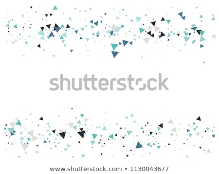 Falling Colorful Particles Background Stock photo © derocz