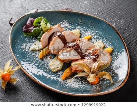 говядины · один · банка · продовольствие · вилка · блюдо - Сток-фото © monkey_business