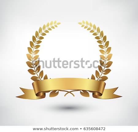 Vector gold laurel  Stock photo © fresh_5265954