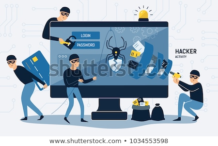 ordenador · portátil · Internet · hombre - foto stock © stevanovicigor
