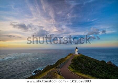 Cape Reinga Lighthouse Stock photo © oliverfoerstner