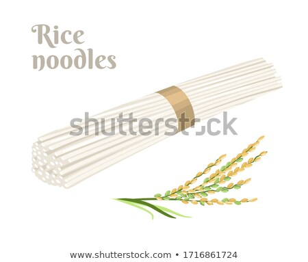 chinese dried noodle stock photo © devon