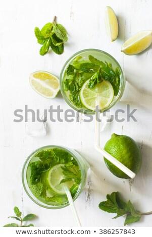 üveg erős ital felső kilátás izolált Stock fotó © Cipariss