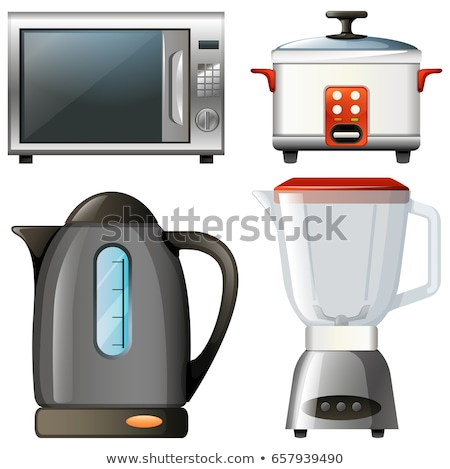 Four types of electronic kitchen devices Stock photo © bluering