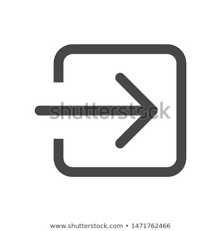 Ikona kolor korekta ekranu życia Chmura Zdjęcia stock © dimashiper