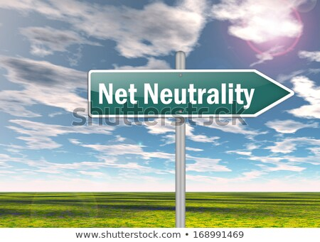 Net Neutrality Symbol Stock photo © Lightsource