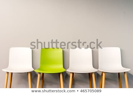 Vazio cadeiras quarto vazio janela branco ninguém Foto stock © IS2