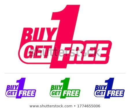 Yukarı 50 satış promo yalıtılmış Stok fotoğraf © studioworkstock