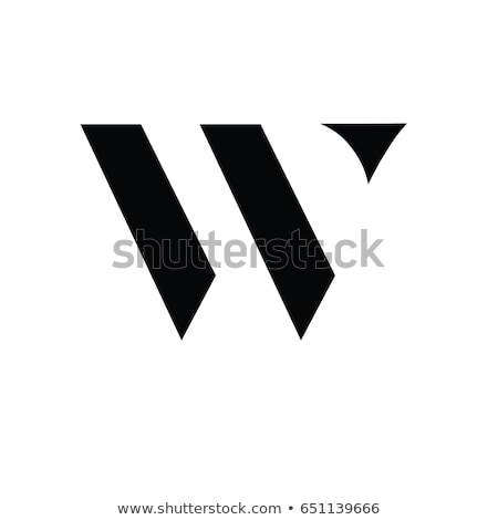 house logo with letter W sign. logo template Stock photo © taufik_al_amin
