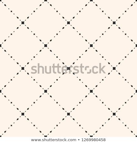 minimal subtle dots line pattern background Stock photo © SArts