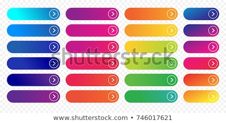 Read More colorful button set on white background. Flat line gradient button collection. Vector web  Stock photo © Zoa-Arts