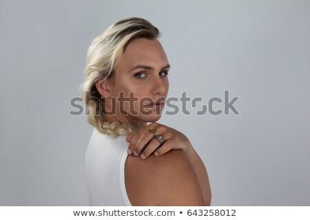 Portrait of transgender woman looking over shoulder Stock photo © wavebreak_media