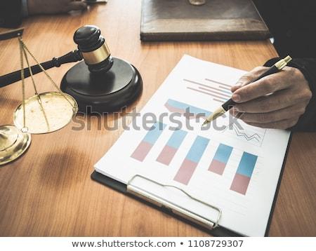 Financeiro lei corporativo legal símbolo negócio Foto stock © Lightsource