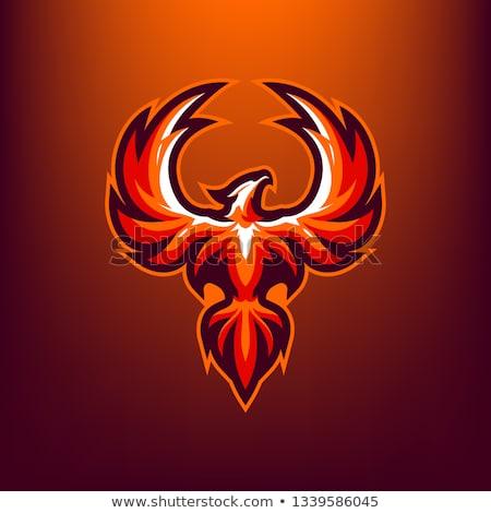 Węża maskotka projektowanie logo projektu sztuki zielone Zdjęcia stock © SaqibStudio