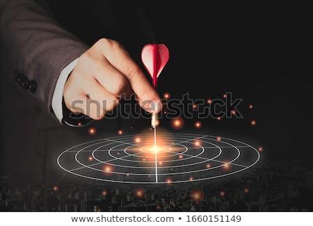 businessman targeting on board Stock photo © get4net