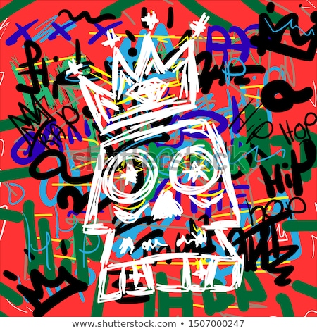 Tshirt teen music vector illustration. stock photo © yopixart