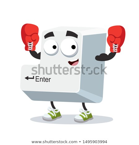 technical red button push background. Vector illustration design Stock photo © Linetale
