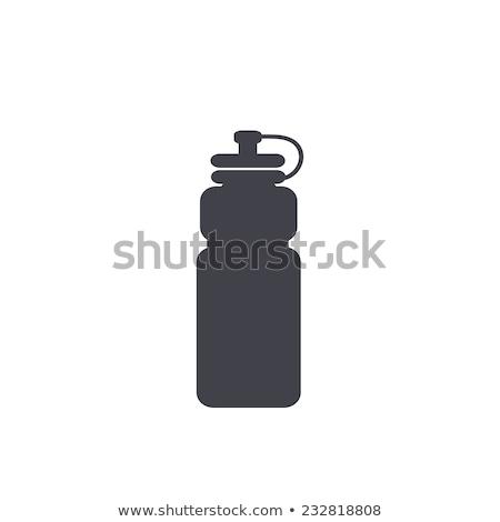 Sports water bottle icon. Stock photo © smoki