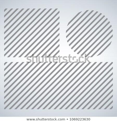 Csíkok minták mértani egyszerű átló kép Stock fotó © kyryloff