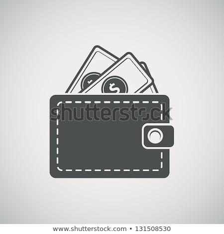 お金 ウォレット ベクトル アイコン シンボル ストックフォト © blaskorizov