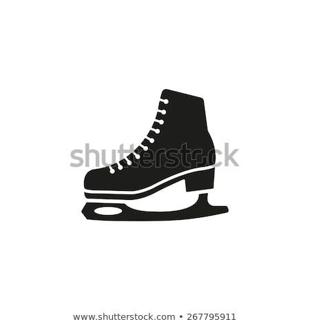 skate vector icon symbol Stock photo © blaskorizov