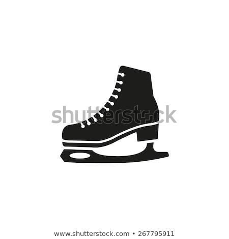 skateboarding · conjunto · cor · patinador · fundo · laranja - foto stock © blaskorizov