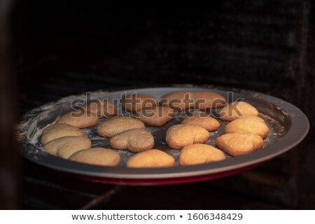 Photo stock: Homme · maison · cookie · main