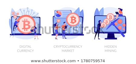 Hidden mining concept vector illustration. Stock photo © RAStudio