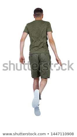 Back View Of Man Jumping In Air Stock photo © monkey_business