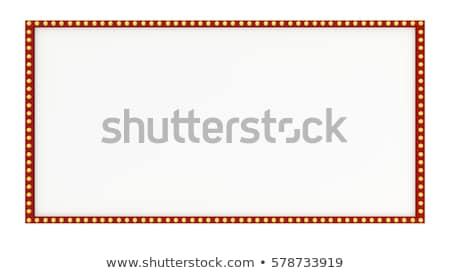 A blank circus border Stock photo © bluering