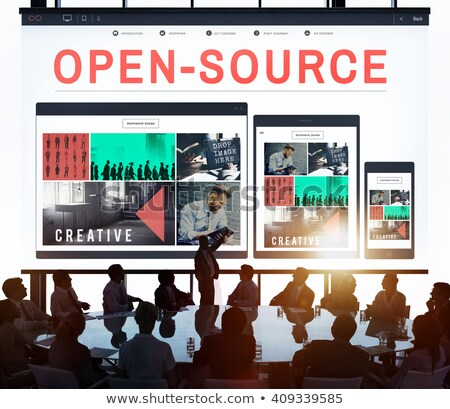 Open Source Project Concept Stock photo © olivier_le_moal