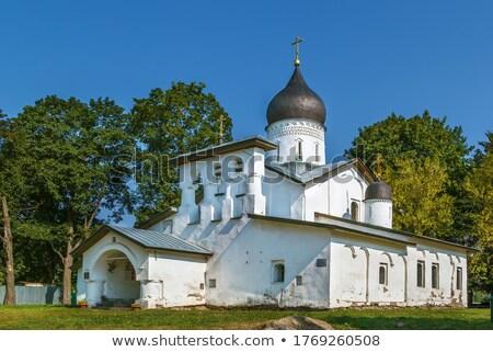 église · résurrection · christ · orthodoxe · bâtiment · ville - photo stock © borisb17