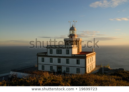 Lighthouse in Finisterre or Fisterra End Of The Old World Stock photo © diego_cervo
