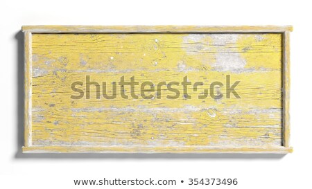 painted rough wood signs on post stock photo © jsnover