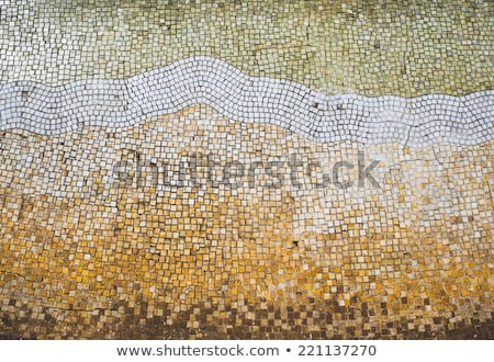 Antique Mosaic Background Stock photo © cidepix